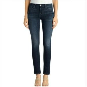 J Brand Seven Eighths Eclipse Ankle Cropped Jeans